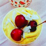 Inghetata cu mango si ananas