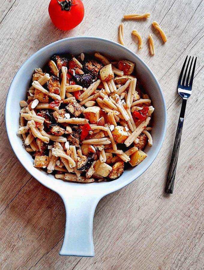 paste fara gluten cu legume coapte