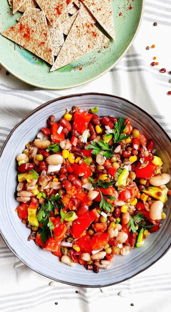 salata mexicana de legume