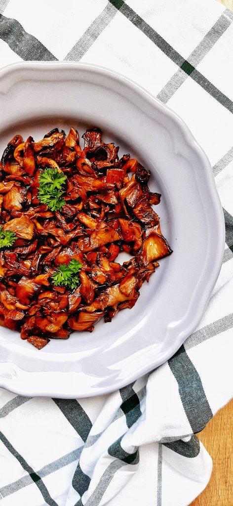 ciuperci pleurotus la cuptor
